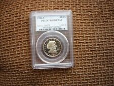 1980S(PCGS)(PROOF 69)(DECAMEO) SUSAN B. ANTHONY DOLLAR - A  BEAUTY!!!!