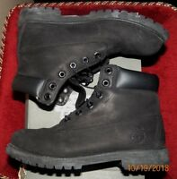 Timberland Junior Premium Waterproof Boot Black Model: (TB012907) US SIZE 7