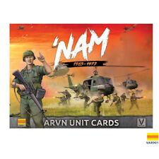 ARVN FORCES  UNIT CARDS - VAR901 - VIETNAM MINIATURES GAME - 'NAM -