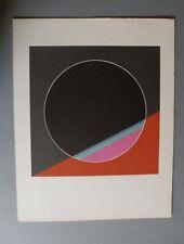 Giorgio Giusti Riproduzione litografica certificata Bolaffi Arte Originale '70