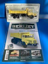 1/43 Collection Berliet N°80 GBH 12 6X4 PORTEUR BENNE CHANTIER MARREL HACHETTE