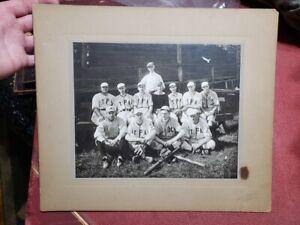 Large Mounted Pennsylvania Allentown Baseball Photograph early 1900's