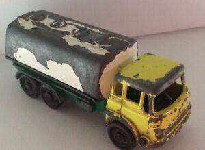 Lesney Matchbox Bedford Petrol Tanker Vintage England