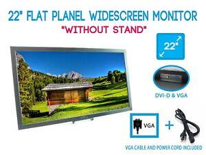"""Dell E2209W 22"""" LCD Flat Panel Widescreen Monitor DVI VGA Antiglare No STAND"""