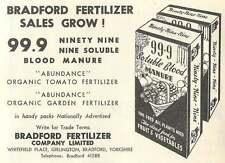 1953 Bradford Fertiliser Whitefield Place Girlington Ad