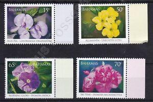 BAHAMAS MNH STAMP SET 2006 WILD FLOWERING VINES SG 1439-1442