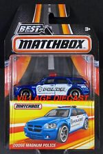 2017 Matchbox Best of Dodge Magnum Police BLUE / MOC