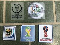 PATCH FIFA WORLD CUP 2002 2006 2010 2014 2018 LEXTRA OFFICIAL BADGE
