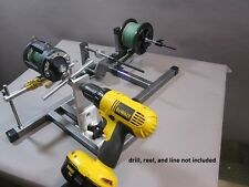 Reel Winder II with Super Spooler and Digital counter, Line Winder, Reel Holder