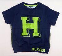 Tommy Hilfiger Little Boys' Short-Sleeve Graphic-Print Fleece Shirt  sizes 5,6,7