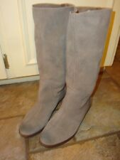 NINE WEST Vintage America Collection Knee High NWFrollic Suede Boots, Size 7.5 M