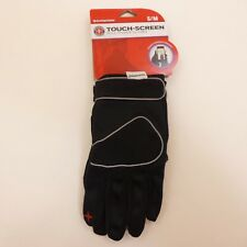 Schwinn Adult Small TOUCH SCREEN Bicycle Cycling Gloves Full Finger Black