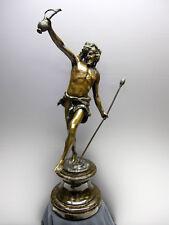 Kowalczewski Paul Ludwig (1865 - 1910)  Bacchus, Bronze, patiniert, signiert