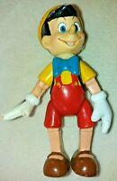 Vintage Rare Disney Posable Pinocchio 5.5 inch Figure