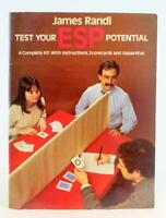 James Randi Test Your ESP Potential Kit With Instructions Scorecards Apparatus