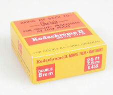 KODAK KODACHROME 25 COLOR MOVIE FILM DOUBLE 8MM ROLL NOS SEALED EXPIRED OCT. 74