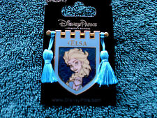Disney * PRINCESS ELSA * Tapestry Banner Series * New on Card Trading Pin