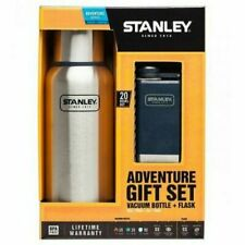 Stanley Adventure Flask Gift Set Vacuum Bottle and Flask NEW Outdoor Camping