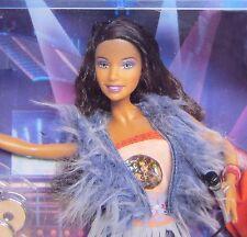New AMERICAN IDOL SIMONE Barbie 2004 Ever-Flex Limbs • 2 OUTFITS • KARAOKE NRFB