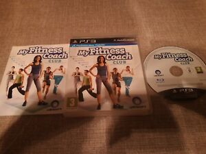 MY FITNESS COACH CLUB PS3 PLAYSTATION 3 PREOWNED