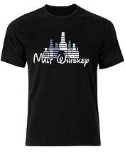 MALT WHISKEY divertido Disney Castle Estilo Peculiar Resaca Camiseta Hombre ab78