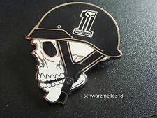 Original Harley Davidson Skull Death Head Helmet PIN nuevo!!!