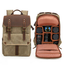 Vintage Premium Photography DSLR Backpack Waterproof Photography Canvas Best Bag