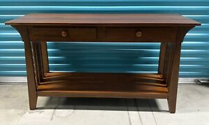 Ethan Allen American Impressions Mission Sofa Table #24-8507 224 Autumn Cherry