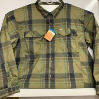 Columbia Silver Ridge Lite Vented Plaid Long Sleeve Shirt Men's 3XL - Fishing