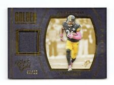 Le`VEON BELL NFL 2016 PANINI BLACK GOLD GOLDEN GROUND GAME JERSEYS (STEELERS)