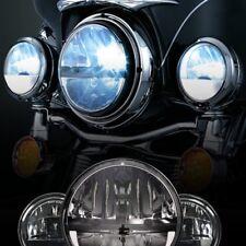"Eagle Lights 27270C 7"" LED Headlight and Passing Light Kit For Harley Davidson"