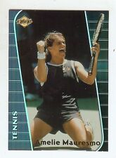 AMELIE MAURESMO Hall of Fame? 2000 Edge *REFRACTOR* Tennis Card