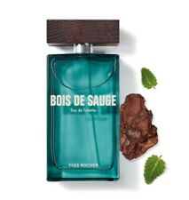 YVES ROCHER Bois de Sauge Eau de Toilette MEN NEW 100ml FATHER boyfriend 10903