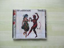 RAY LAMONTAGNE.  TROUBLE.  CD.  TEN  SONGS.     PREOWNED.   2004.