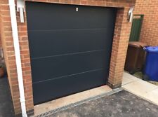 DESIGNER SECTIONAL GARAGE DOOR FREE COLOUR CHOICE INSULATED NOT ROLLER Up Over