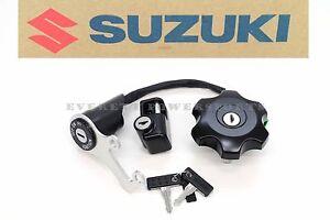 Ignition Key Switch 05-20 DRZ400 SM OEM Genuine Suzuki Gas Cap Lock Set #W66