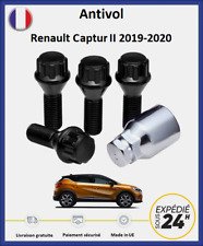 ECROUS ANTIVOL DE ROUE RENAULT CLIO 4 12x150