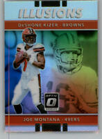 2017 Donruss Optic Illusions Football Cards Pick From List