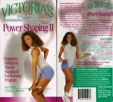 Victoria's Diamond Collection Power Shaping II VHS Video Tape Nw Fitness Workout