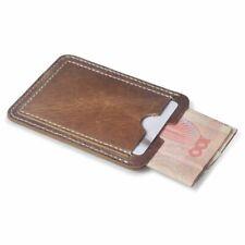 Wallet Credit Cards Brown Card Holder Slim Credit Card ID Card Holder Case Bag