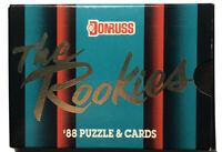 1988 Donruss 56-card The Rookies Factory Sealed Baseball Set, Free Shipping!