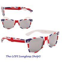Mens and Womens British Flag Union Jack Wayfare Style Patriotic Sunglasses ct902
