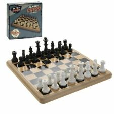 VINTAGE RETRO RIDLEYS FAMILY BOARD GAME CLASSIC CHESS SET GAME NEW & BOXED