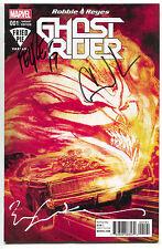 Ghost Rider 1 Signed x3 Bill Sienkiewicz Gabriel Luna F Smith Fried Pie Variant