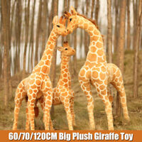 Big Plush Giraffe Toy Giant Large Stuffed Cute Animal Doll Gift 60/70/100/120CM