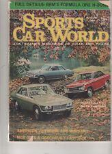 Sports Car World 1966 Aug MGB Morgan Plus 8 Bellett GT Nissan Silvia Mazda 1000