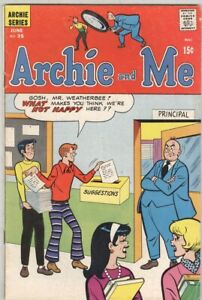 Archie and Me #35 June 1970 G/VG