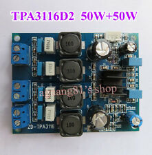 TPA3116D2 Digital 2.0CH Class D 50W+50W Audio Power Amplifier Board 50W*2