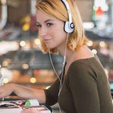 NEW Koss KPH30 Lightweight White Headphones Balanced Sound inline Control