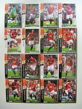 Panini WCCF 2014-15	Manchester United complete 16 cards set FALCAO Rooney MATA